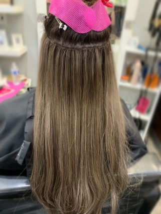 professional weft hair extensions caitlin essing