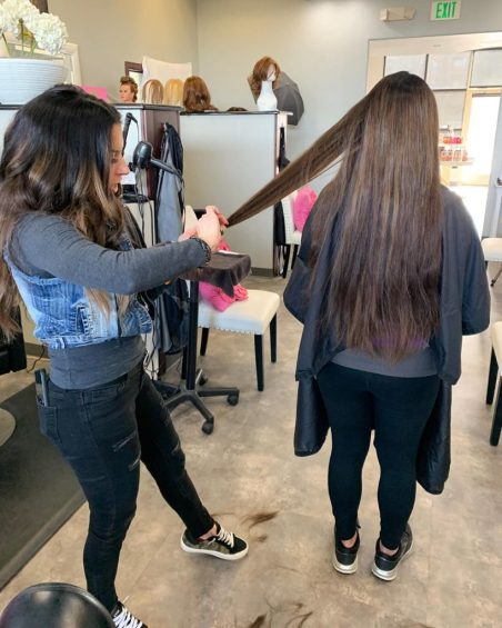 tidy cut maintenance for hair extensions