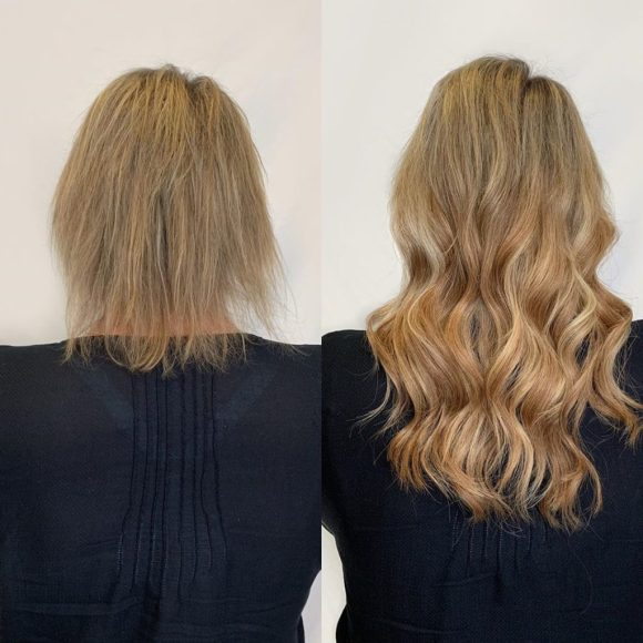 13 in tape in hairtalk hair extensions for short thinning hair