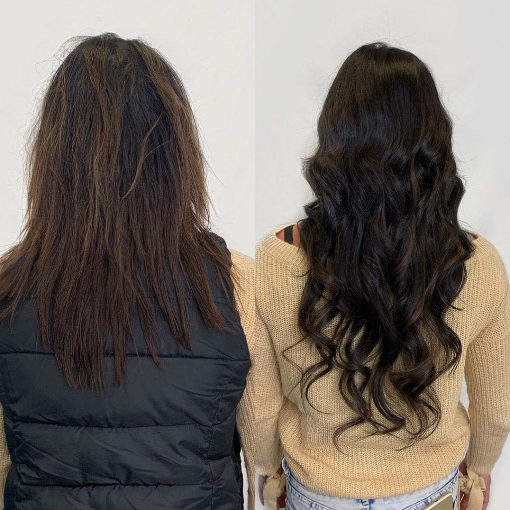 22 in fusion hair extensions