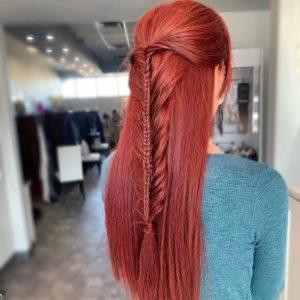 double fishtail braid by siren stylist 1