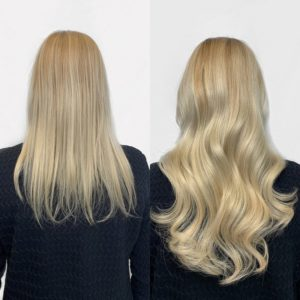 tape in hair extensions 14