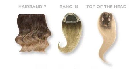 hairband hairtalk clip in halo hair extensions VA beach