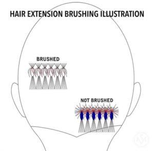 tidy cut hair extensions maintenance siren stylist