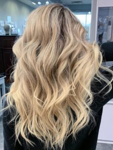 14 in fusion beaded weft hair extensions