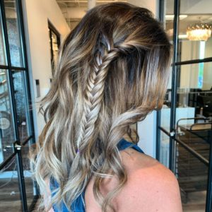 hand tied hair extensions undectable even with braids VA beach