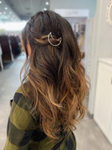ombre fusions styled with accessory VA Beach