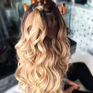 hairband or clip in extensions style VA Beach