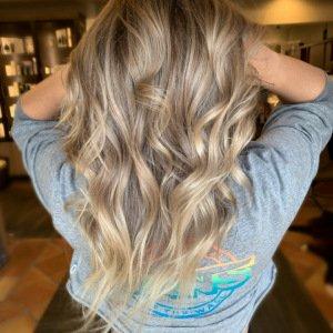 blonde-balayage VA Beach