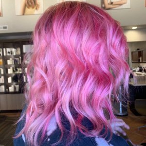pink hair VA Beach