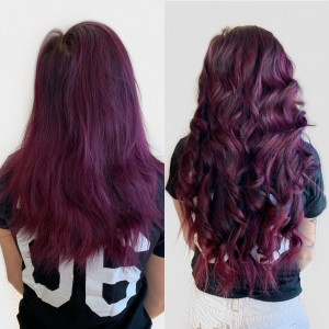 hand-tied-wefted-extensions-with-fashion-color