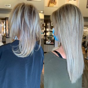 hand-tied-weft-extensions-blonde-VA-Beach-Siren-Stylist