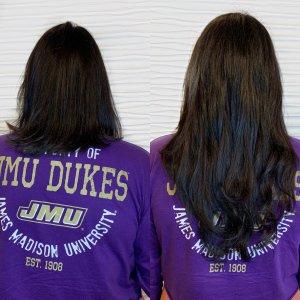 short-hair-Hairtalk-hand-tied-weft-extensions-salon-VA-Beach