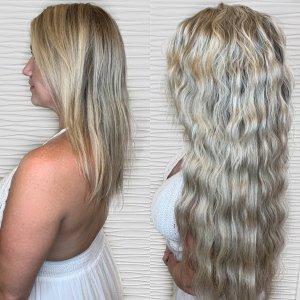 wavy-blonde-hand-tied-weft-extensions-salon-VA-Beach-3